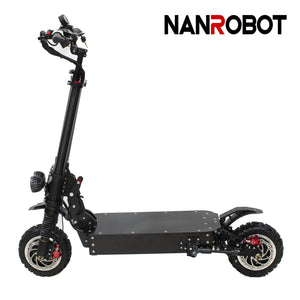 "ELECTRIC SCOOTER RS11-11""-60V 38Ah-3600W SPEED 45-55MPH RANGE 40-43Miles - NANROBOT electric scooter"
