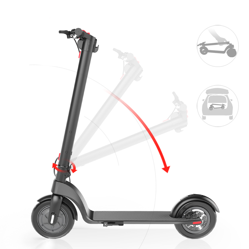 "ELECTRIC SCOOTER X7 8""-350W-36V 5AH"