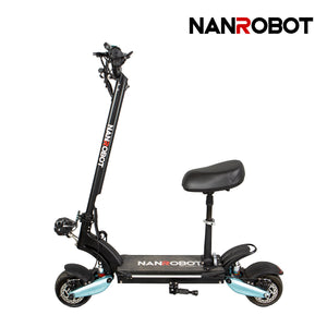 "NANROBOT LIGHTNING ELECTRIC SCOOTER 8""WIDE WHEEL EVOLUTION-1600W-48V 18Ah - NANROBOT electric scooter"
