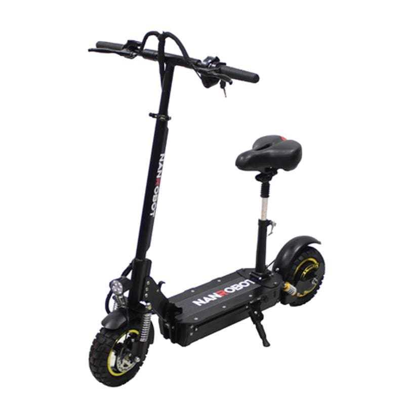 "ELETRIC SCOOTER D3 10""-800W-48V 18AH SPEED 28MPH RANGE 35-43MILES - NANROBOT electric scooter"