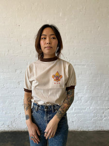 1980's BSA Uniform Ringer Tee