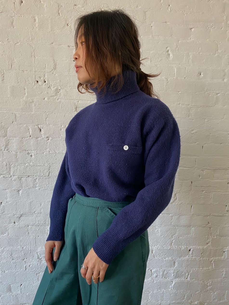 1980's Bloomingdale's Turtleneck Sweater