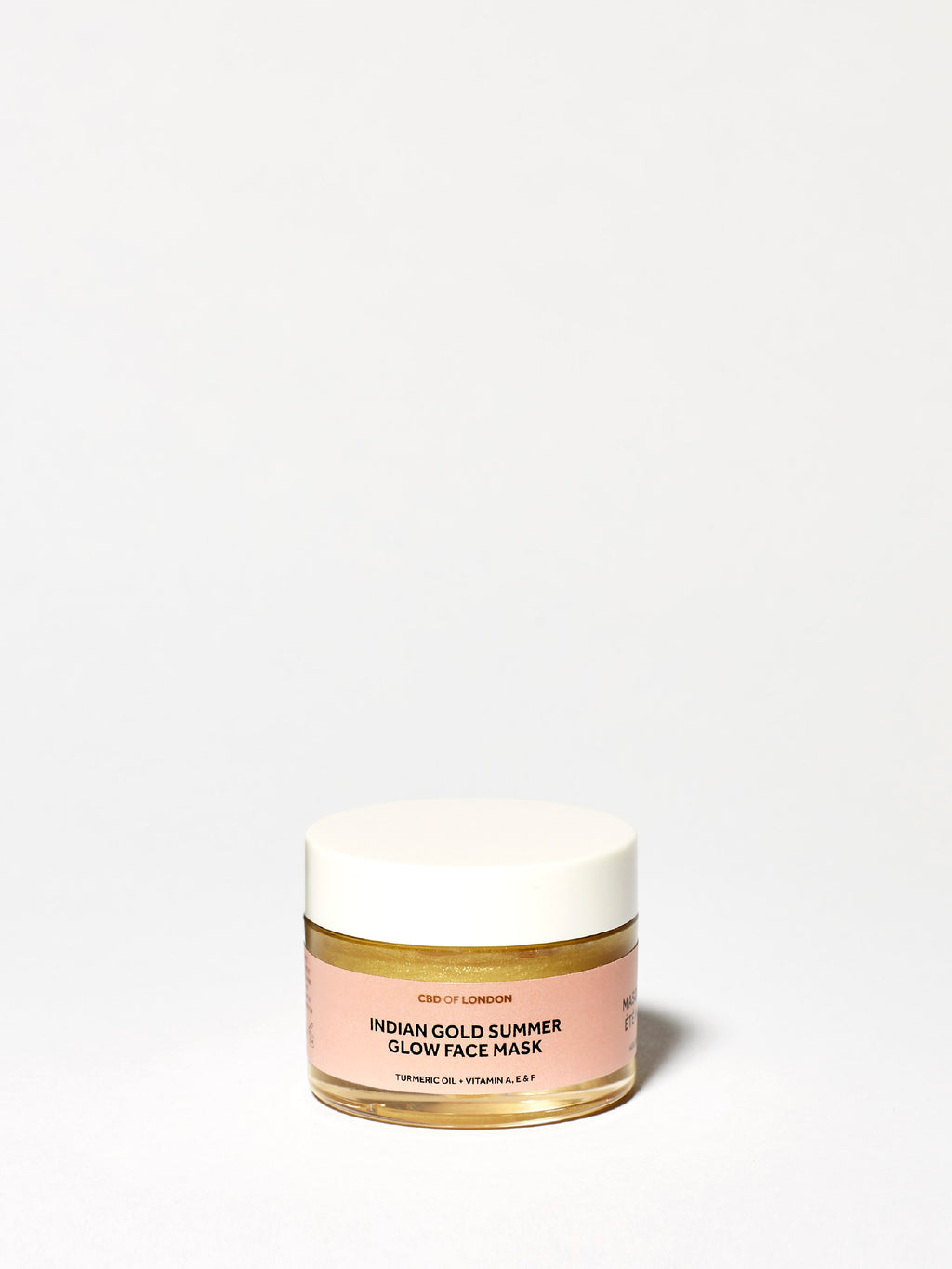 Indian Gold Summer Glow Face Mask