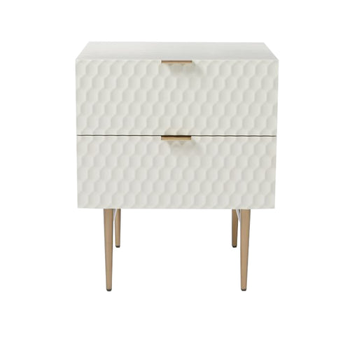 Agna side table (set of 2) - White