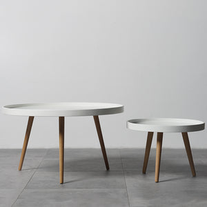 Ander coffee table set - white