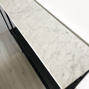 Hannes marble console table