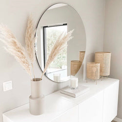Falka frameless Mirror (Size customisable)