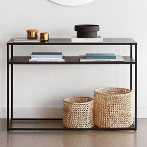 Mathias console table