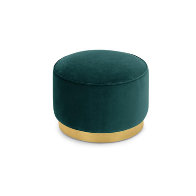 Andes ottoman (Large) - Emerald