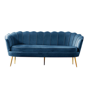 Quenby blue sofa - 3 seater