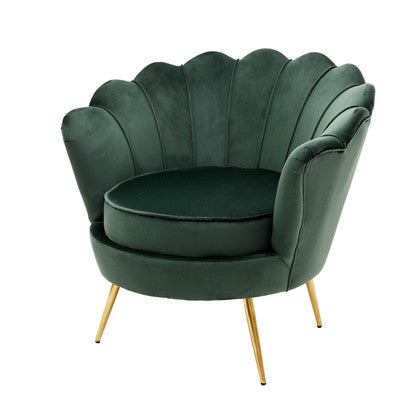 Quenby lounge chair - Green