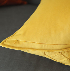 Pieced cushion - Orange