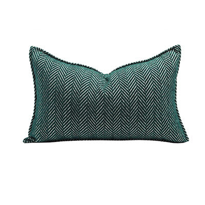 Textured twill cushion (long)