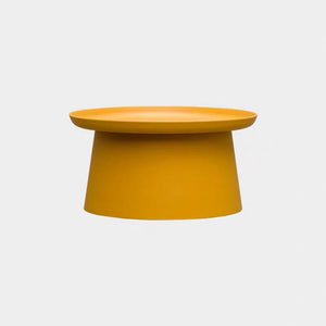 Maeve coffee table - yellow