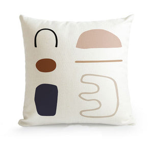 Abstract cushion -D