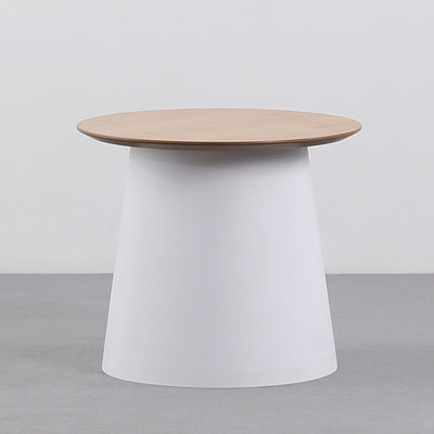 Anneka side table - white
