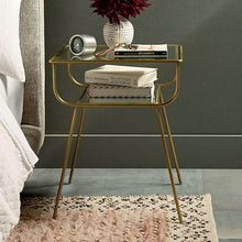 Tayte side table (set of 2) - Gold