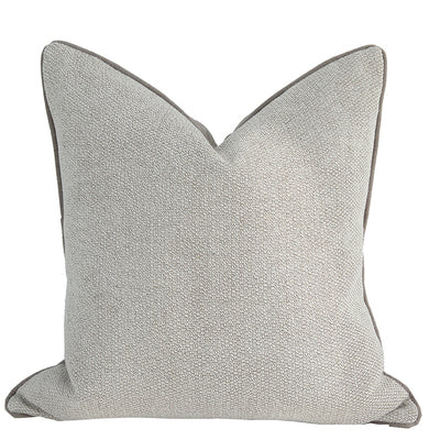 Cotton canvas cushion - Natural