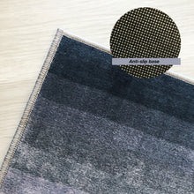 Contemporary grey rug (size customisable)