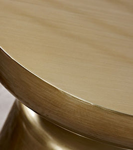 Hansel side table - gold