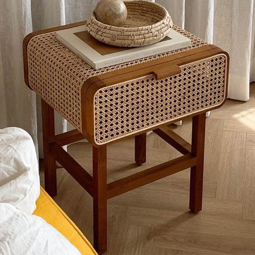 Frei side table - dark wood (set of 2 tables)