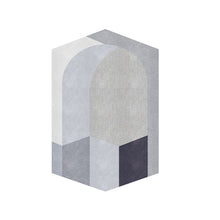 Hexagon rug - mono (size customisable)
