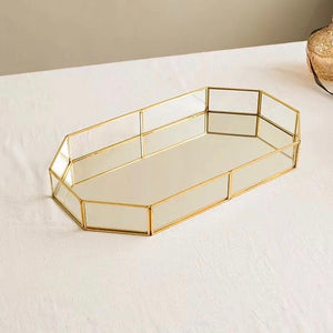 Hilde gold tray