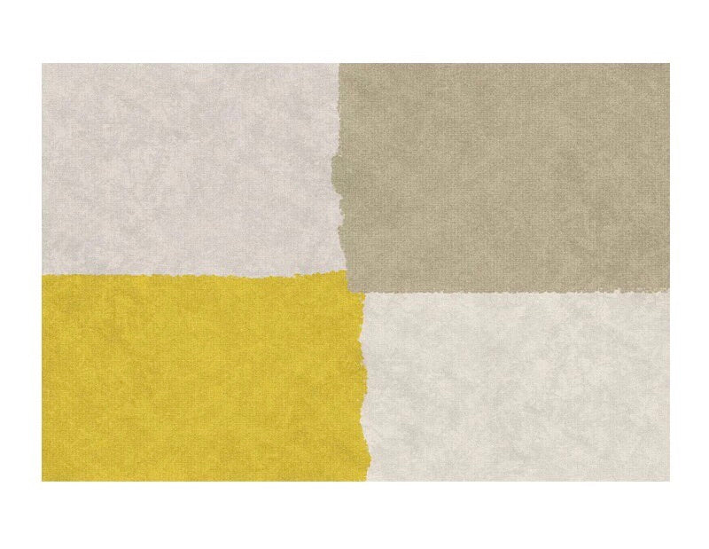 Colourblock rug (size customisable)