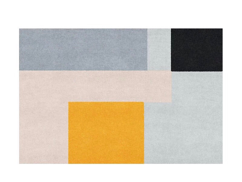 Colourblock rug - eleven (size customisable)