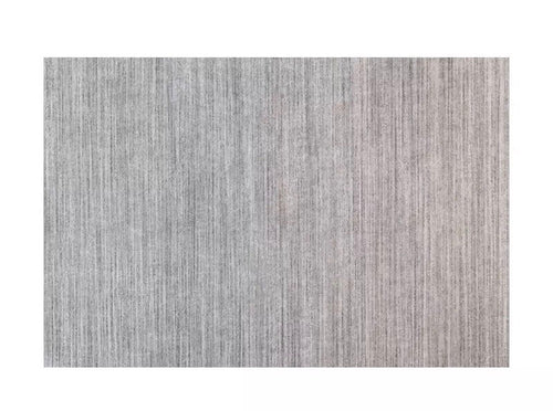 Contemporary rug - light grey (size customisable)