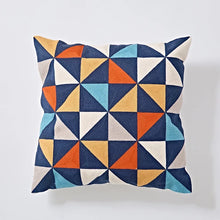 Embroidery cushion - Multi trio