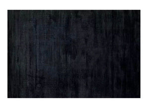 Contemporary rug - black (size customisable)