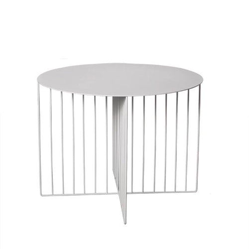 Alexa coffee table - white