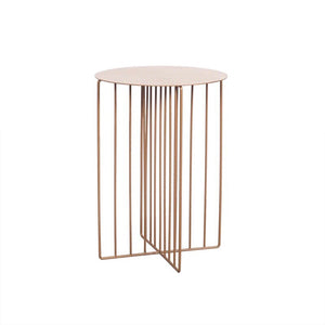 Alexis side table - gold