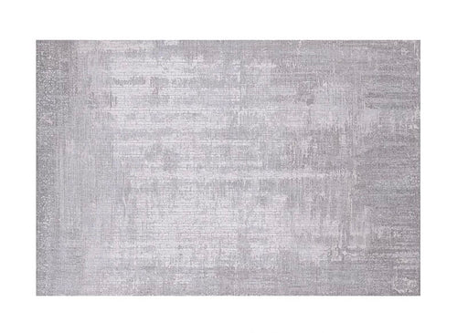 Textured grey rug (size customisable)