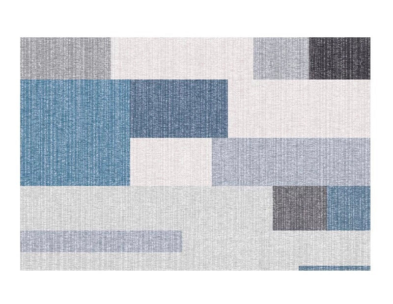Colourblock rug - ten (size customisable)