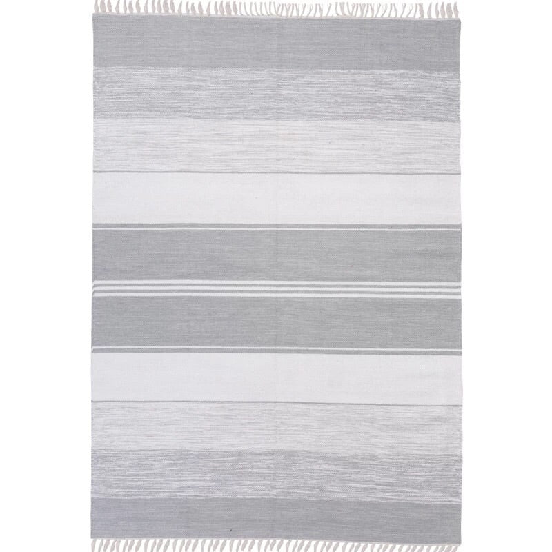 Stripes rug - grey