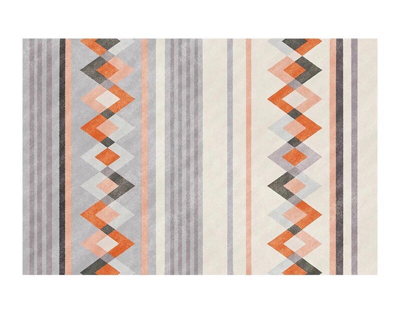 Aztec rug - sun kissed (size customisable)