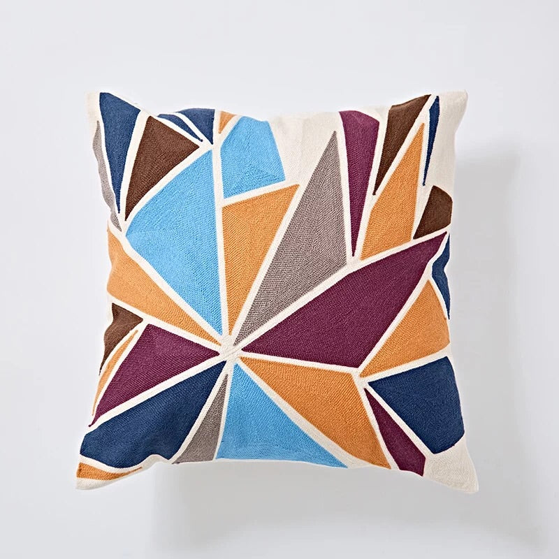 Embroidery cushion - Multi graphic
