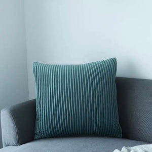 Pleats please cushion - sea foam