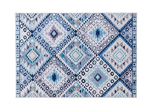 Motif rug - blue (size customisable)