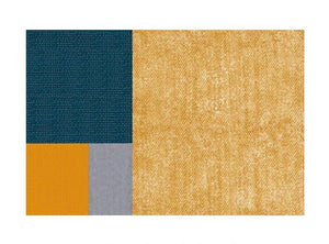 Colourblock rug - three (size customisable)