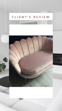 Quenby pink sofa - 3 seater