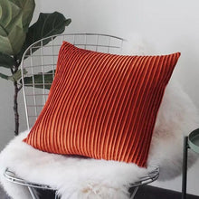Pleats please cushion - orange