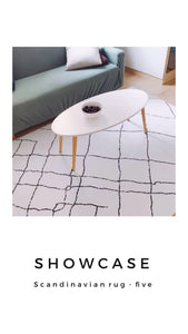 Scandinavian rug - five (size customisable)
