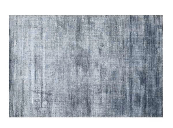 Contemporary rug - blue grey (size customisable)