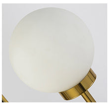 Aria marble floor lamp