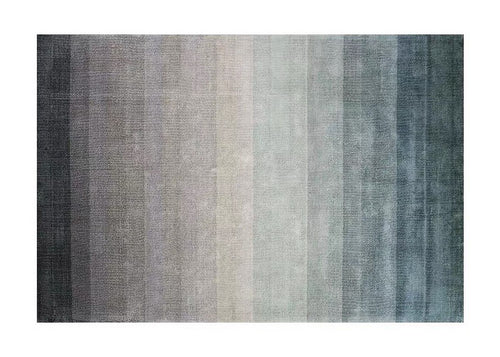 Ombre rug - lake (size customisable)