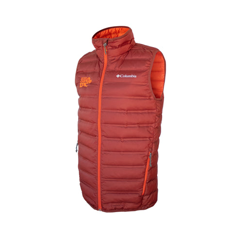 COLUMBIA Down Vest Men's - Deep Rust