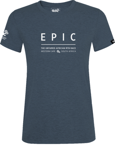 Epic Name T-shirt Women's - Slate Melange